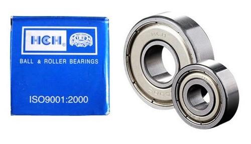 "R6ZZ, HCH Bearing Single Row Ball Bearing, 3/8"" Inside Diameter for sale at World Bearing Supply"