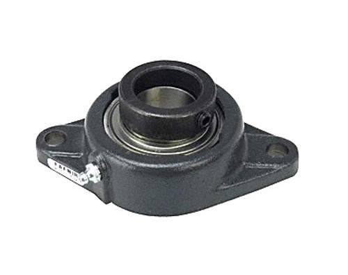 1-1//8 Two Bolt Flange Bearing W// Lock Collar HCFT206-18