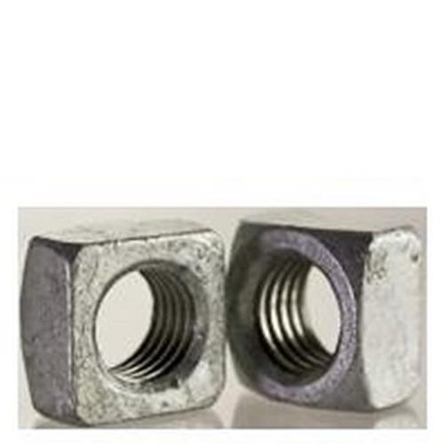 Grade 2 Steel 1 1//2-6 Square Nuts Plain Quantity: 35