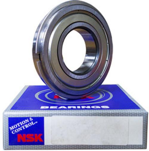 6205ZZNR NSK Ball Bearing, 25mm Bore Bearing at Mechanidrive