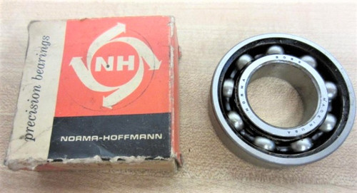 305, Norma Bearings Single Row Ball Bearing, 25mm Bore