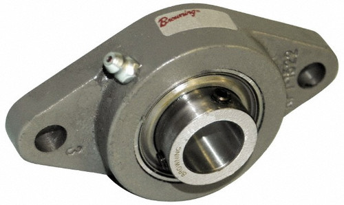 "FB230-7/8 Browning, 2-Bolt Flange Bearing, 7/8"" Shaft"