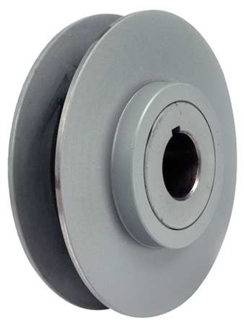 """Variable Pitch Pulley, 7/8"""" Bore, 1 Groove, 3.15"""" Diameter, 1VP34-7/8 Tritan"""
