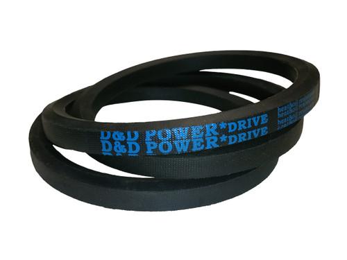 2 Band Rubber D/&D PowerDrive 331J2 Poly V Belt