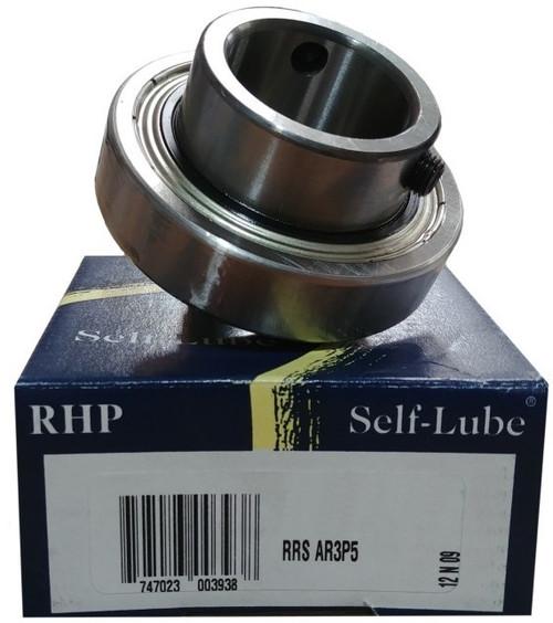 1017-15G RHP Insert Ball Bearing for Mounted Unit, 15mm Shaft