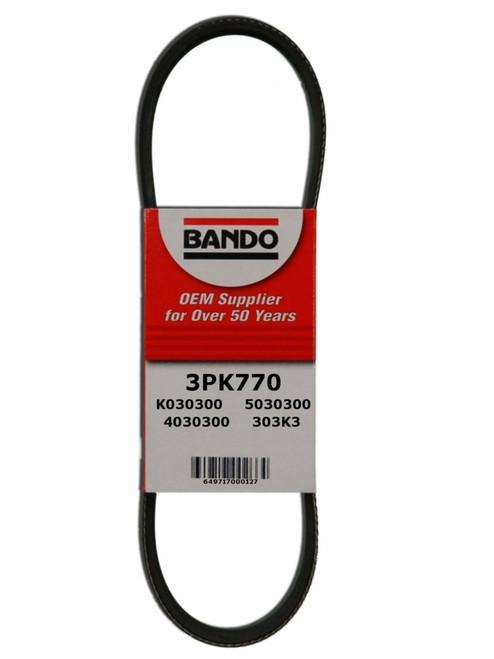 Bando 6PK2006 Serpentine Belt Equivalent 790K6 6 Rib Poly-V Belt 2 Pack