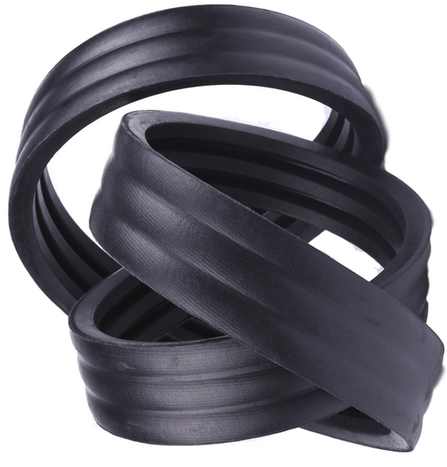 Rubber 3 Number of Band D/&D PowerDrive 3//8V1800 Banded V Belt