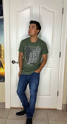 """Target Item #82567666 Men's Attack On Titan Logo Short Sleeve Graphic T-Shirt """"I am 5'7"""" and I have a 36"""" chest. I am 29"""" at the waist and 36"""" around the hips. i like the fit of the shirt but was not too thrilled with the color! it is a simple tshirt for wearing in everyday routine. i would wear it while hanging out with friends or just chilling at home with family. the material is soft and light too. really good for humid weather!. This item does not have pockets. I received an incentive to write this review. But this is my honest review. Hope it helps!"""" Shop this item at https://www.target.com/"""