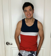 """Target Item #82020667 Men's Standard Fit Jersey Tank Top """"I am 5'7"""" and I have a 36"""" chest. I am 29"""" at the waist and 36"""" around the hips. very unique stylish muscle shirt.it fits just right like how its supposed to. it also makes you look more fit which is a plus for us guys. this shirt can be worn to the beach or picnics. and for the price you can not beat it. i would recommend this shirt to everyone.. This item does not have pockets. I received an incentive to write this review. I hope this helps. Happy shopping!"""" Shop this item at https://www.target.com/"""