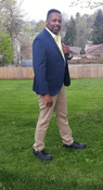 """Target Item #79319711 Men's Big & Tall Standard Fit Suit Jacket """"I am 6'1"""" and I have a 45"""" chest. I am 38"""" at the waist and 44"""" around the hips. the navy blue suit jacket is very comfortable and it was the perfect fit for me. i look right for an evening stroll through the town along with my khaki pants and dress shoes. for a more casual look out on jeans and nice gym shoes or slides. . This item has pockets. I received an incentive to write this review. Hope it helps you!"""" Shop this item at https://www.target.com/"""