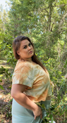 Target Item #82163937 Women's Short Sleeve V-Neck Cropped Boxy T-Shirt Shop this item at https://www.target.com/