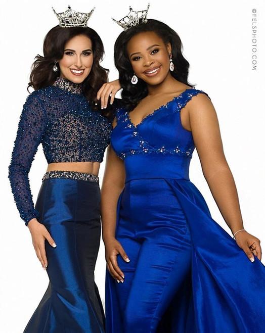 Imani M. on right