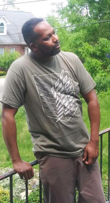 Target Item #82567666 Men's Attack On Titan Logo Short Sleeve Graphic T-Shirt  Shop this item at https://www.target.com/