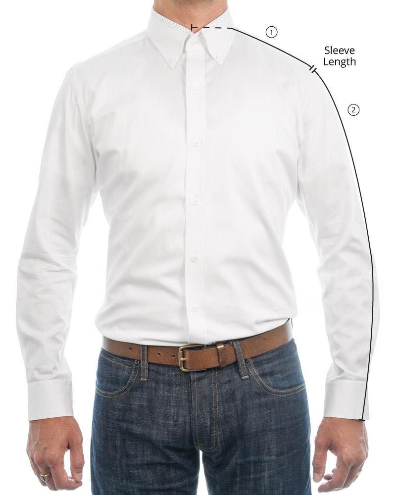 Proper Sleeve Length Measurement