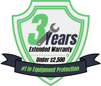3 Year Warranty (Under $2,500)
