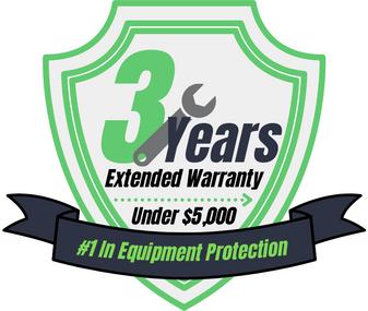 3 Year Warranty (Under $5,000)