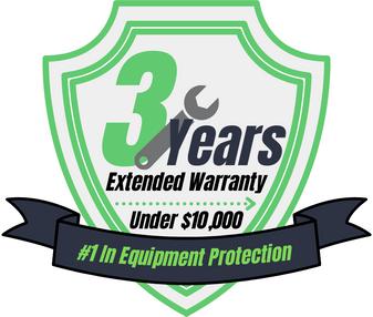 3 Year Warranty (Under $10,000)