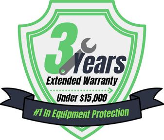 3 Year Warranty (Under $15,000)
