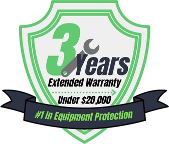 3 Year Warranty (Under $20,000)