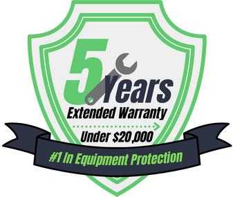 5 Year Warranty (Under $20,000)