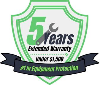 5 Year Warranty (Under $1,500)