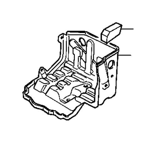 93-97 FZJ80 Dual Battery Tray