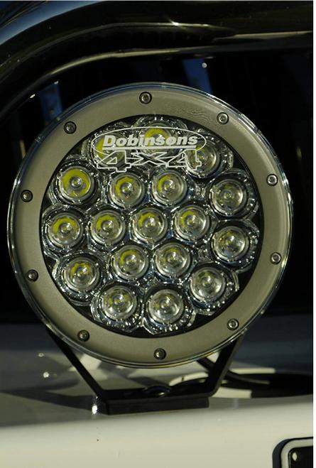 "DOBINSONS 7"" LED DRIVING LIGHT PAIR WITH 90 WATT AND 7200 LUMENS PER LIGHT(DL80-3764K)"
