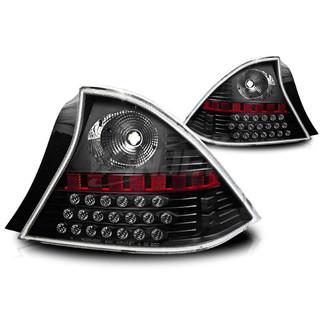 2001-2003 Honda Civic 2Dr LED Tail Light - Black/Clear