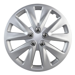 15 inch Universal Silver Wheel Cover Set of 4 4