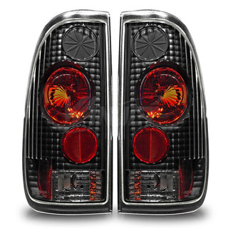 1997-2007 Ford F-250 StyleSide Altezza Tail Light - Black/Clear