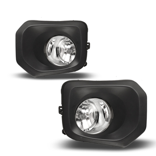 2016-2018 Toyota Tacoma Fog Lights - (Clear) - (Wiring Kit Included)