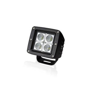 Square 16 Watt Super Duty LED Work Light - Flood Beam