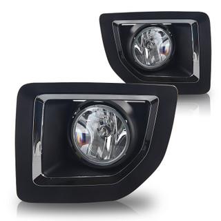 2015-2017 GMC Sierra 2500 Fog Lights - Clear (Wiring Kit Included)