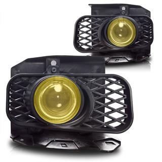 1999-2003 Ford F-150 (XL, XLT, Lariat Model W/O STX Edition) Halo Projector Fog Light - Yellow