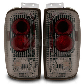 1997-2002 Ford Expedition Altezza Tail Light - Chrome/Smoke