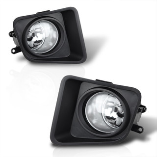 2014-2017 Toyota Tundra Fog Lights - Clear - (Wiring Kit Inclunded)