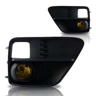 2015-2017 Subaru WRX Fog Lights - (Yellow) - (Wiring Kit Included)