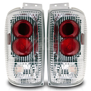 1997-2002 Ford Expedition Altezza Tail Light - Chrome/Clear