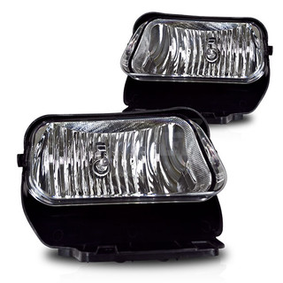 2002-2006 Chevrolet Avalanche - (With Out Body Cladding) - Replacement- Fog Lights - (Clear)