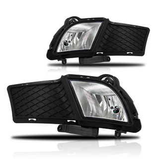2010-2012 Kia Forte 4Dr Fog Lights - (Clear) - (Wiring Kit Included)