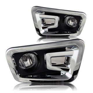 2016-2017 Nissan Titan Fog Lights - Clear (Wiring Kit Included)