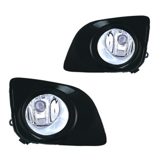 2009-2012 Toyota Venza Fog Lights - Wiring Kit Included - Clear