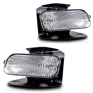 99-03 Ford F-150 (XL,XLT Lariat Model Without STX ED) Replacement Fog Lights - (Clear)