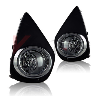 2015-2016 Toyota Yaris Fog Lights - Clear (Wiring Kit Included)