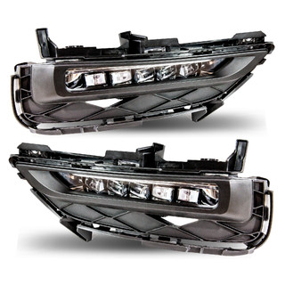 2016-2017 Honda Accord Coupe LED Fog Lights - Clear (Wiring kit included)