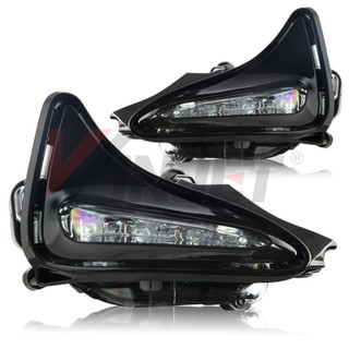 2017 Toyota Corolla Day Time Running Fog Lights - Clear (Wiring Kit Included)