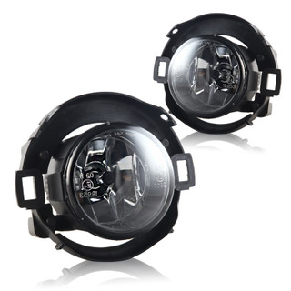2010-2017 Nissan Frontier Fog Lights - (Clear) - (Wiring Kit Included)