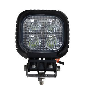 5 inch 40W Square Heavy Duty High Powered LED Work Lights FLOOD BEAM