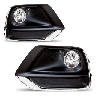 2017-2019 Chevrolet Trax Fog Lights - Clear (Wiring Kit Included)