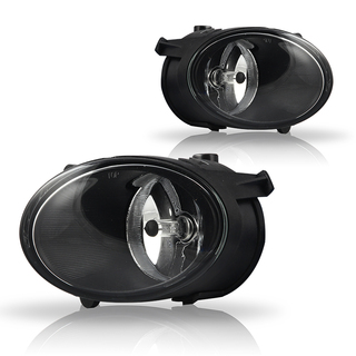 2005-2008 Audi A6 Replacement Fog Lights - (Clear)
